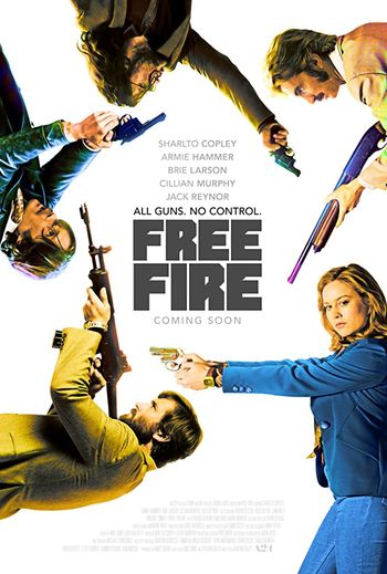 Free Fire (2016) Hindi BluRay 720p & 480p Dual Audio [Hindi & English] | Full Movie