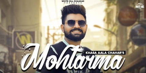 मोहतरमा Mohtarma Lyrics in Hindi - Khasa Aala Chahar