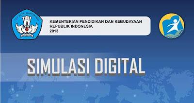 Buku Simulasi Digital Kelas X SMK - MAK Semester 1 - 2 Kurikulum 2013