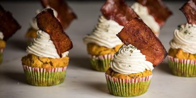 Cupcakes γλυκοπατάτας