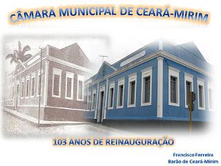 Resultado de imagem para câmara municipal de ceará-mirim