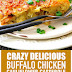 Crazy Delicious Bufalo Chicken Cauliflower Casserole #keto #lowcarb