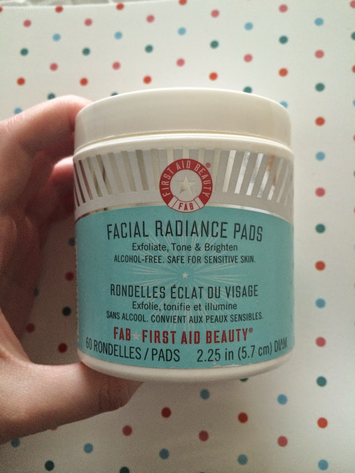 Sweet allure First Impressions: First Aid Beauty - Facial Radiance Pads skincare beauty