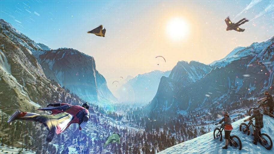 Riders Republic, Wingsuit, Flying, 4K, #7.2734