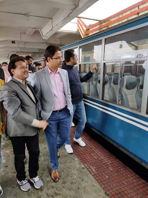 Bista eyes separate division for Darjeeling Himalayan Railway