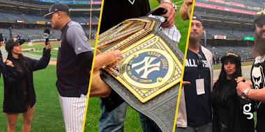 Aaron Judge es nuevo campeón de la WWE