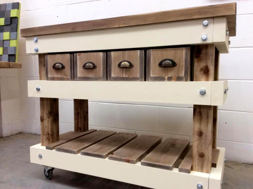 Pallet Kitchen Island Table Do It Yourself Ideas And Projects