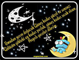 iyi geceler mesajı