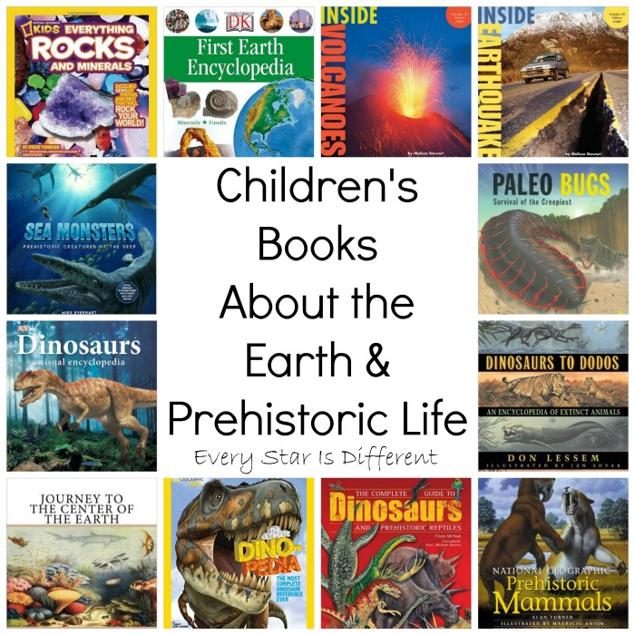 Children's Books About Earth and Prehistoric Life