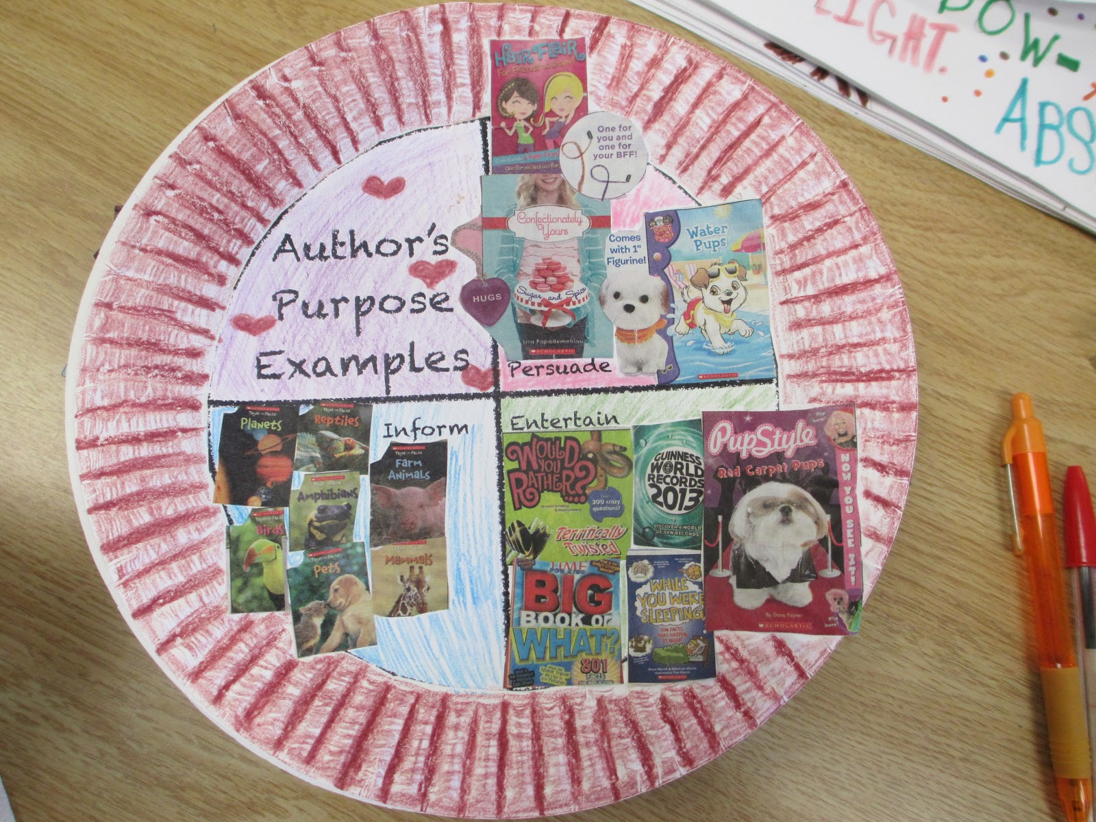 Fabulous In Fifth Author S Purpose Pie