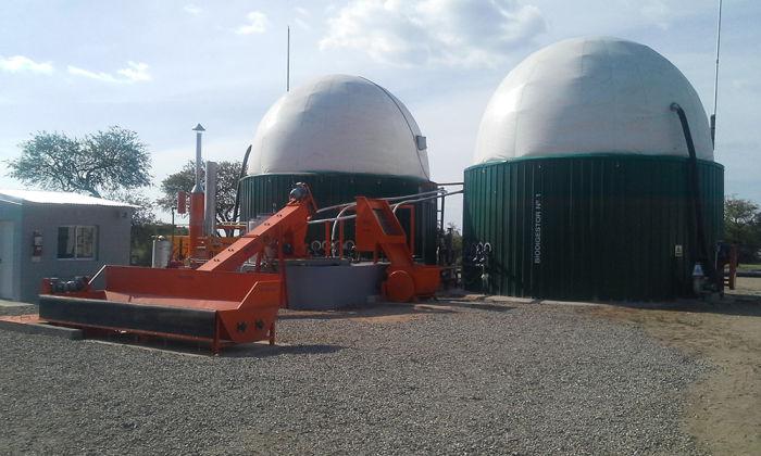 Biodigestores de planta de biogás