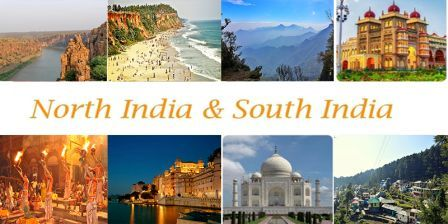 Interesting Differences Between South and North India in tourism