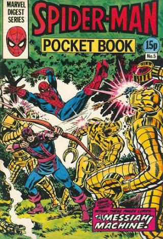 Spider-Man Pocket Book #5, Hawkeye