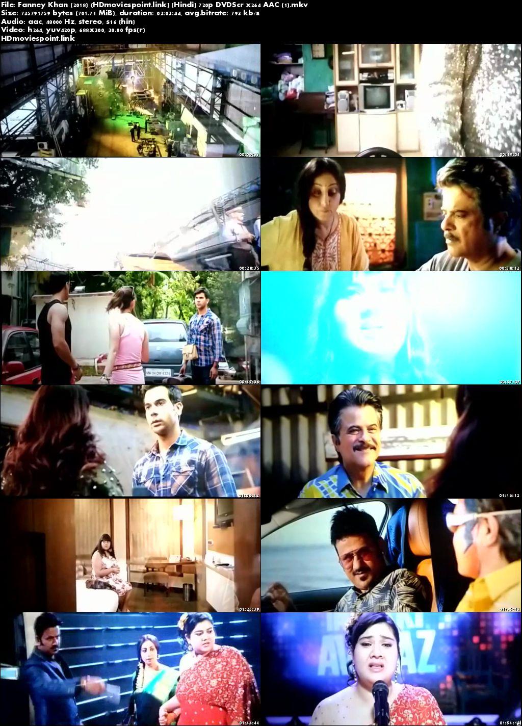 screeen shot Fanney Khan 2018 Full Hindi Movie Download 720p