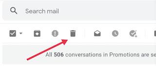 Gmail Se Mail Kaise Delete Kare