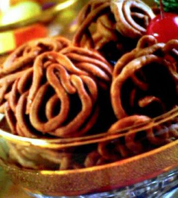 resep cara membuat kue uyel-uyel coklat