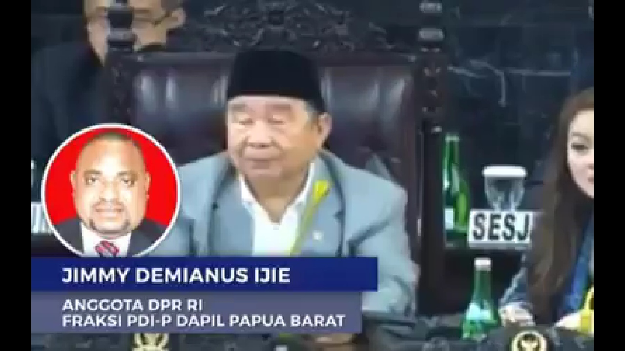 Berteriak Saat Sidang MPR, Politisi Papua Soal Wamena: Ulah Kalian di Jakarta!