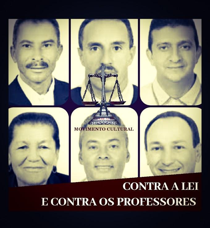VEREADORES BOICOTAM REAJUSTE DOS PROFESSORES