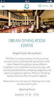 dream cruise dinning room lower