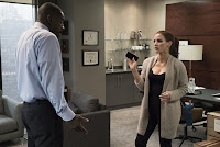 Molly's Game Jessica Chastain and Idris Elba Image 3