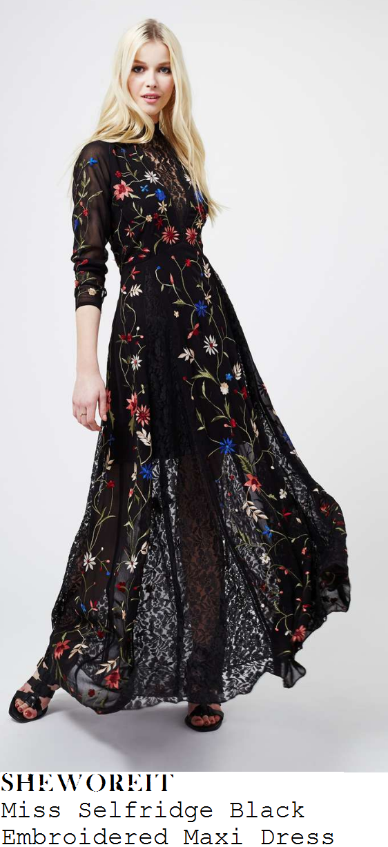 lydia-bright-miss-selfridge-black-multicoloured-floral-embroidery-detail-long-sleeve-lace-maxi-dress