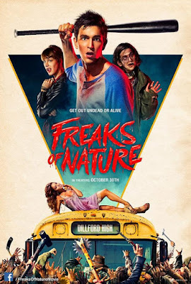 Éramos pocos y llegaron los aliens (2015) de Robbie Pickering Freak of nature