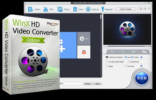 Resultado de imagen para WinX HD Video Converter Deluxe