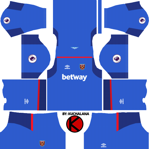 d21b403d1 West Ham United Kits 2017 18 - Dream League Soccer - Kuchalana