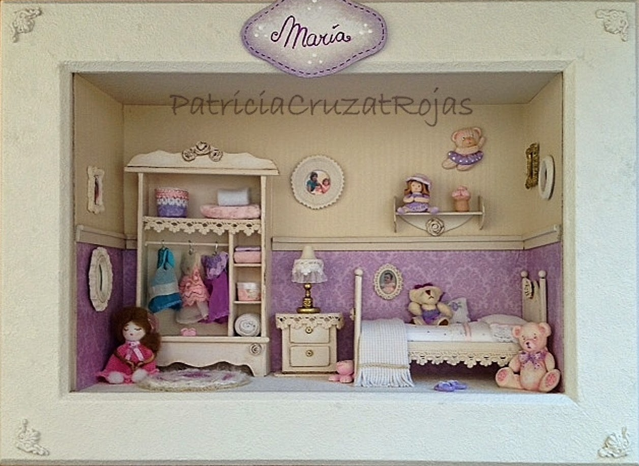 Patricia Cruzat Artesania y Color Dormitorio de nia en