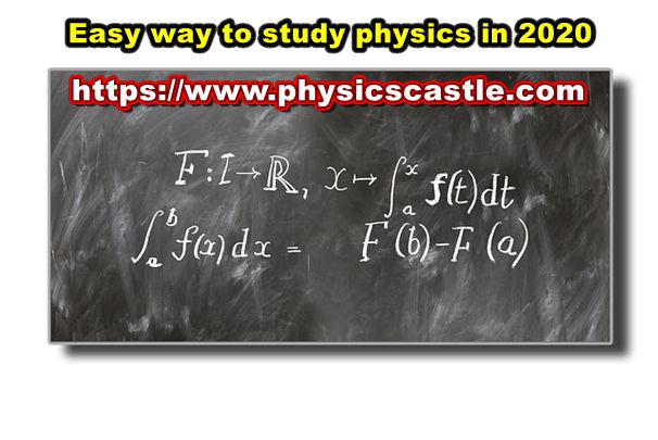 Easy way to study physics free