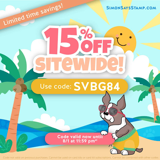 Shop Simon Says Stamp (valid till Aug. 1st)