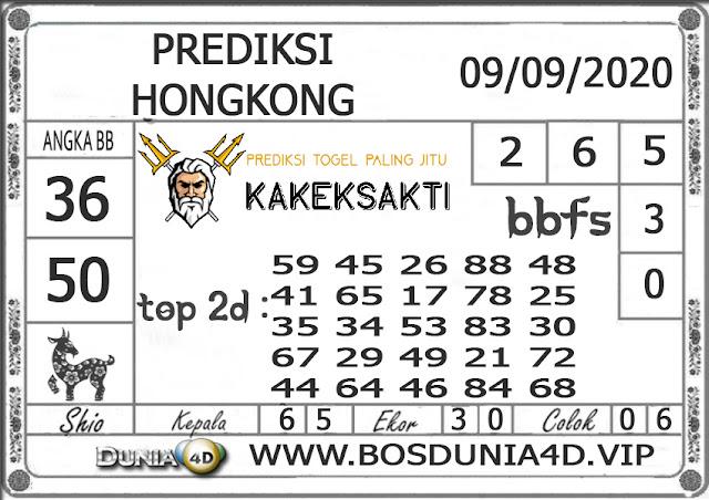 Prediksi Togel HONGKONG DUNIA4D 09 SEPTEMBER 2020