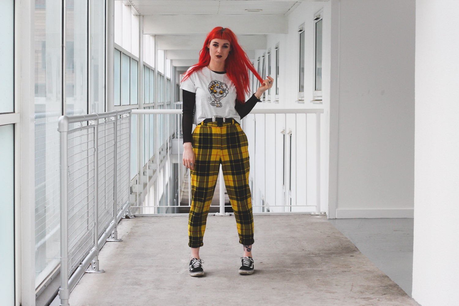 Alternative Fashion Blogger Foxxtailz in Fullwood