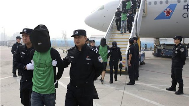China jails 85, including dozens of Taiwanese, over wire fraud