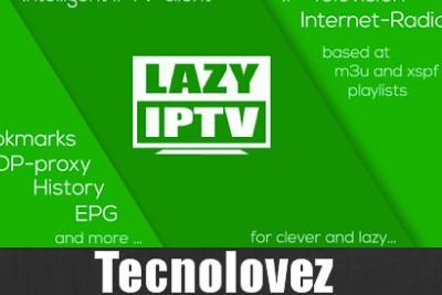 LAZY IPTV - Applicazione IPTV Android