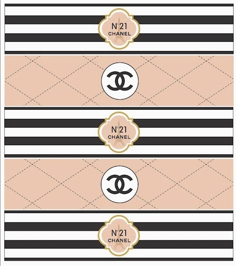 Chanel Logo Printable Templates