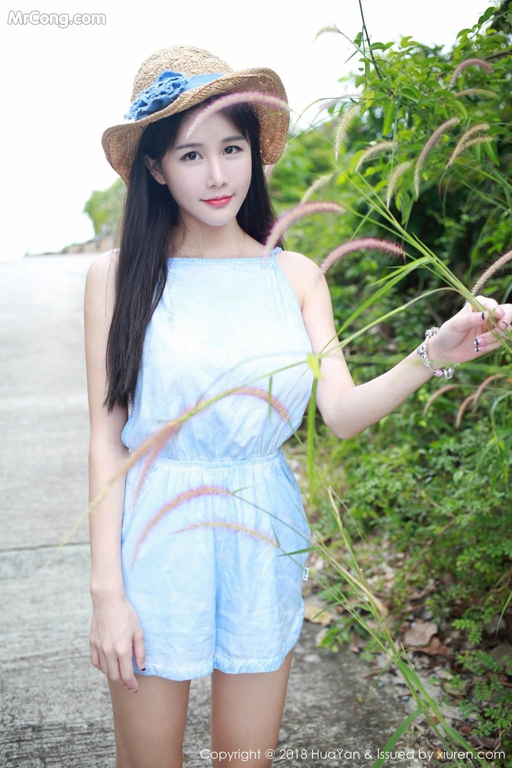 Image HuaYan-Vol.057-Xiao-Mo-Lin-MrCong.com-013 in post HuaYan Vol.057: Người mẫu Xiao Mo Lin (小沫琳) (41 ảnh)