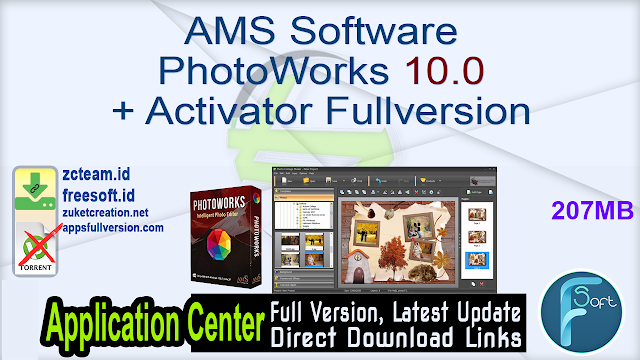 AMS Software PhotoWorks 10.0 + Activator Fullversion
