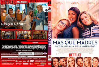 MAS QUE MADRES – OTHERHOOD – 2019 [COVER – DVD]