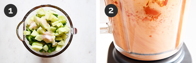 Photos of how to make Delicious Cold Gazpacho (Less Than 10 Minutes) step by step