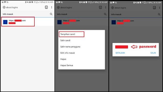 Cara Melihat Sandi yang Tersimpan di Firefox Android 3