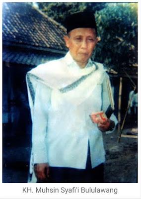 KH Muhsin Syafi'i Bululawang