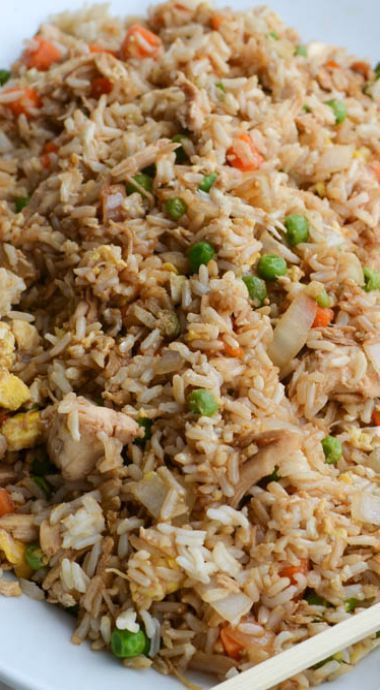 BETTER-THAN-TAKEOUT CHICKEN FRIED RICE #recipes #dinnerrecipes #eveningdinnerrecipes #food #foodporn #healthy #yummy #instafood #foodie #delicious #dinner #breakfast #dessert #yum #lunch #vegan #cake #eatclean #homemade #diet #healthyfood #cleaneating #foodstagram