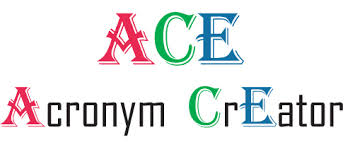 ace acronym creator give the words that best describe your project or concept or give a phrase the tool generates hundreds of acronyms to choose from