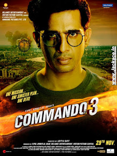 Commando 3 First Look Poster 2