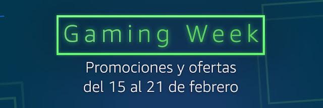 Top 25 ofertas Semana Gaming de Amazon febrero 2021