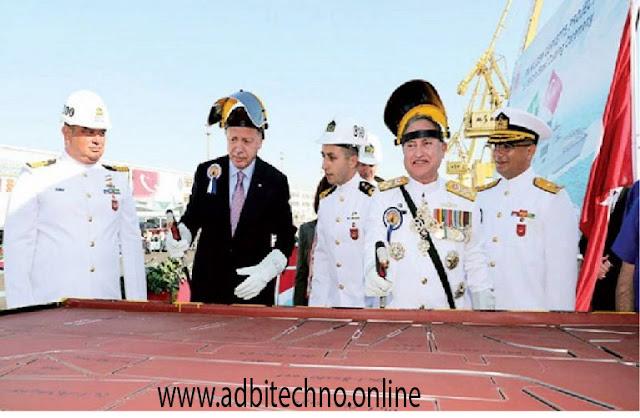warships,turky news,pakistan and turky relationship,global news,pak navy,navy latest, agreement between Pakistan and Turkey,Pakistani Navy officials,todays news,tayyab erdogan;
