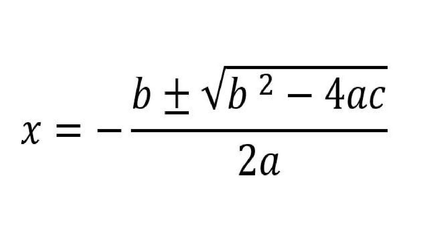 Pembuktian Rumus Abc Rumus Kuadrat Master Matematika Fisika