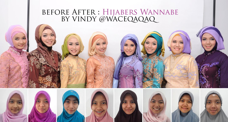 Tutorial Hijab Wisuda Hijaber