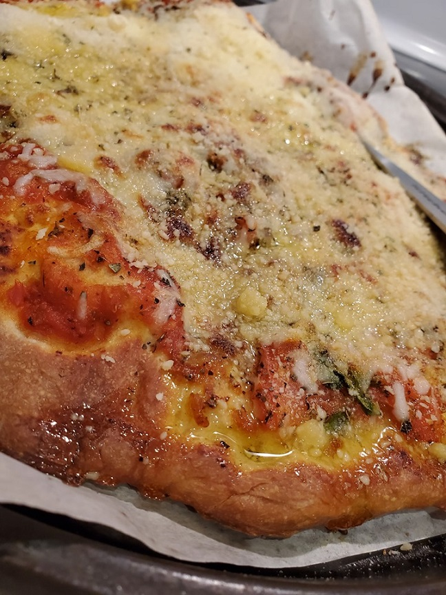homemade Italian pizza dough